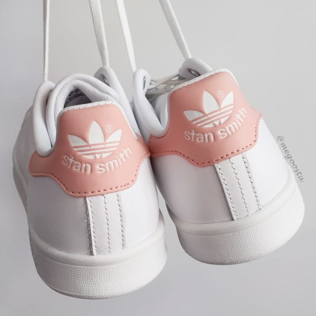 Adidas Stan Smith Light Pink White