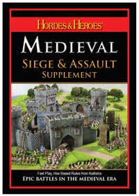 Hordes & Heroes Medieval Siege & Assault Rules