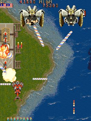 Thunder Dragon+arcade+game+portable+retro+shote'em up+download free