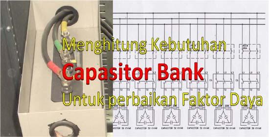 menghitung kebutuhan kapasitor bank instalasi listrik 3 phase