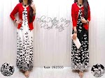 Gamis + Cardi 062555 SOLD OUT
