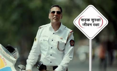 Film Actor Akshay Kumar Becomes Brand Ambassador for Road Safety Campaigns