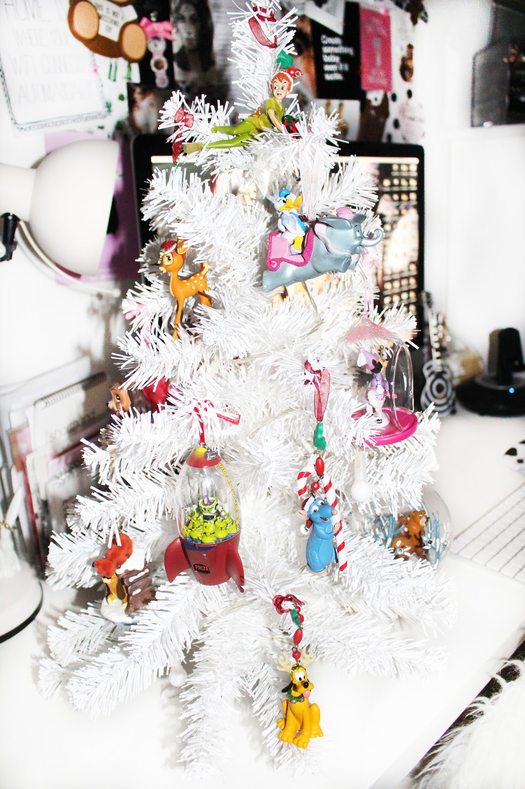 my magical disney themed christmas tree