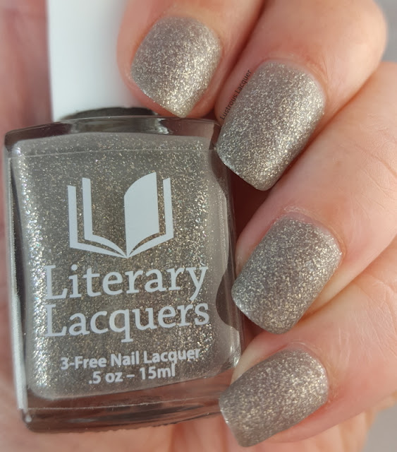 Grey-matte-nail-polish-with-silver-flakes-and-glass-flecks