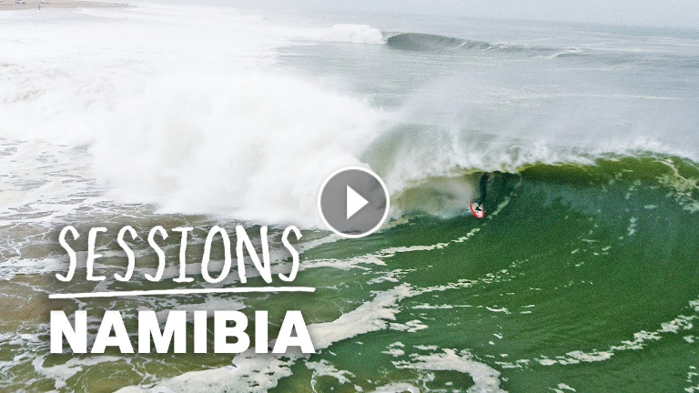 Conor Maguire Chases The Legendary Lefthand Barrels Of Skeleton Bay Namibia Sessions