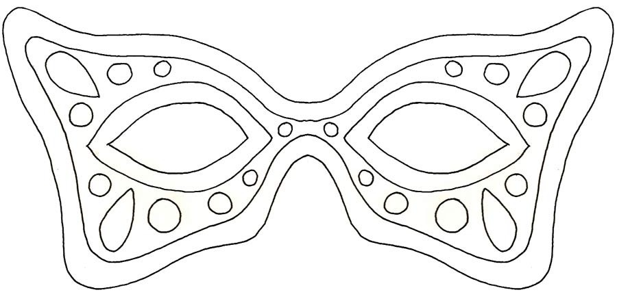 fat tuesday coloring pages - photo #31