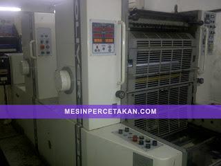 mesin percetakan Sakurai Oliver 258EPII