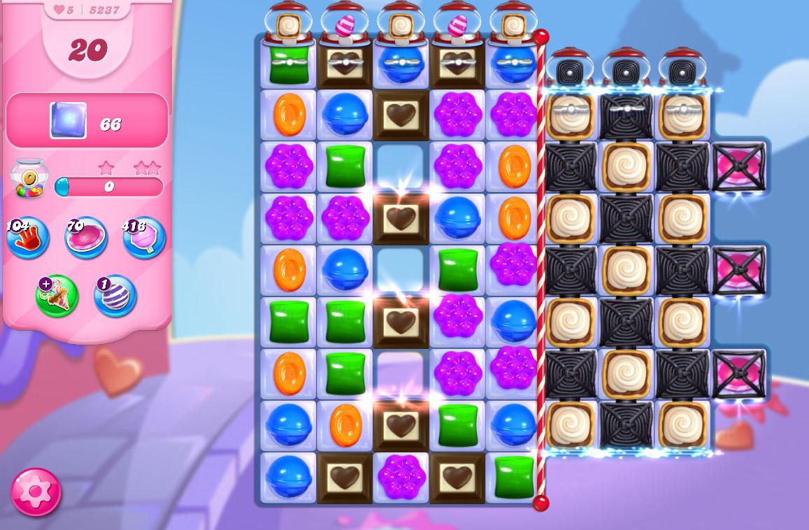 Candy Crush Saga level 5237