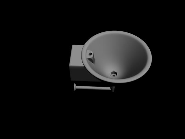 Lavabo 3DSMAX Model