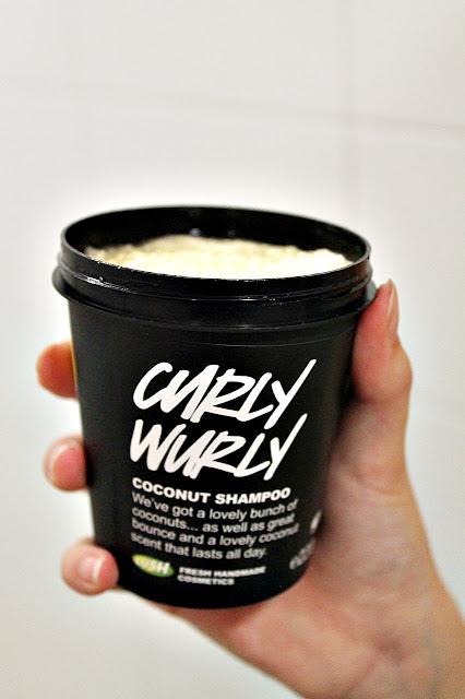 Lush Curly Wurly kookosshampoo