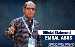 Emral Sangat Puas Persib Menang Telak atas Sriwijaya FC