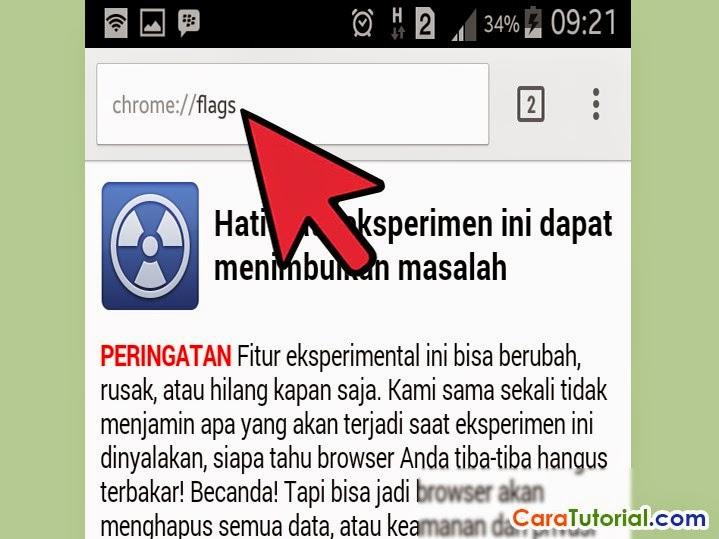 Cara Mempercepat Google Chrome di HP Android