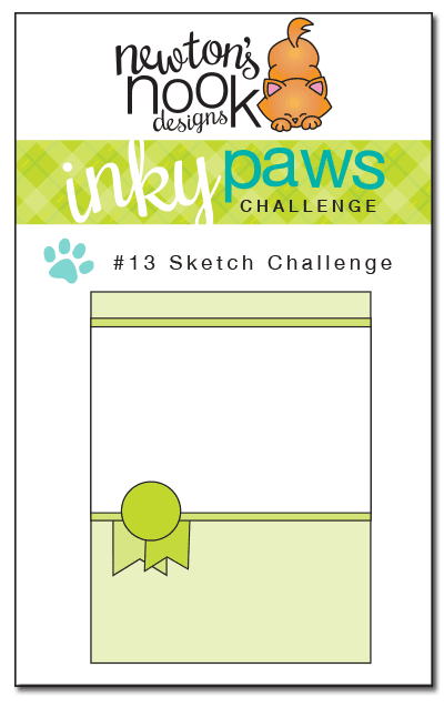 Inky Paws Challenge #13 - Sketch Challenge - Newton's Nook Designs