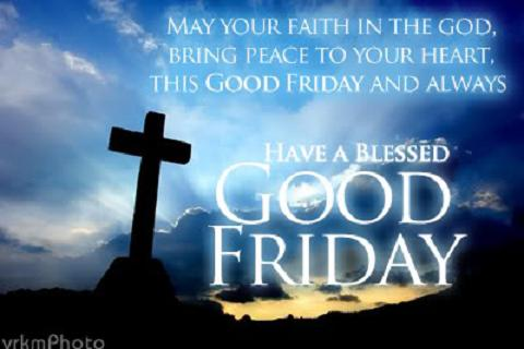 "Wishing Quotes, Wishing SMS, Wishing Message Of Good Friday 2017 - ""Thinking Of You On Good Friday And Praying That The Lord Keep You In His Luving Care Always"""