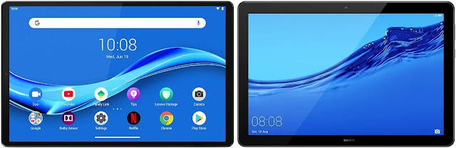 Lenovo Tab M10 FHD Plus vs Huawei Mediapad T5 64 GB