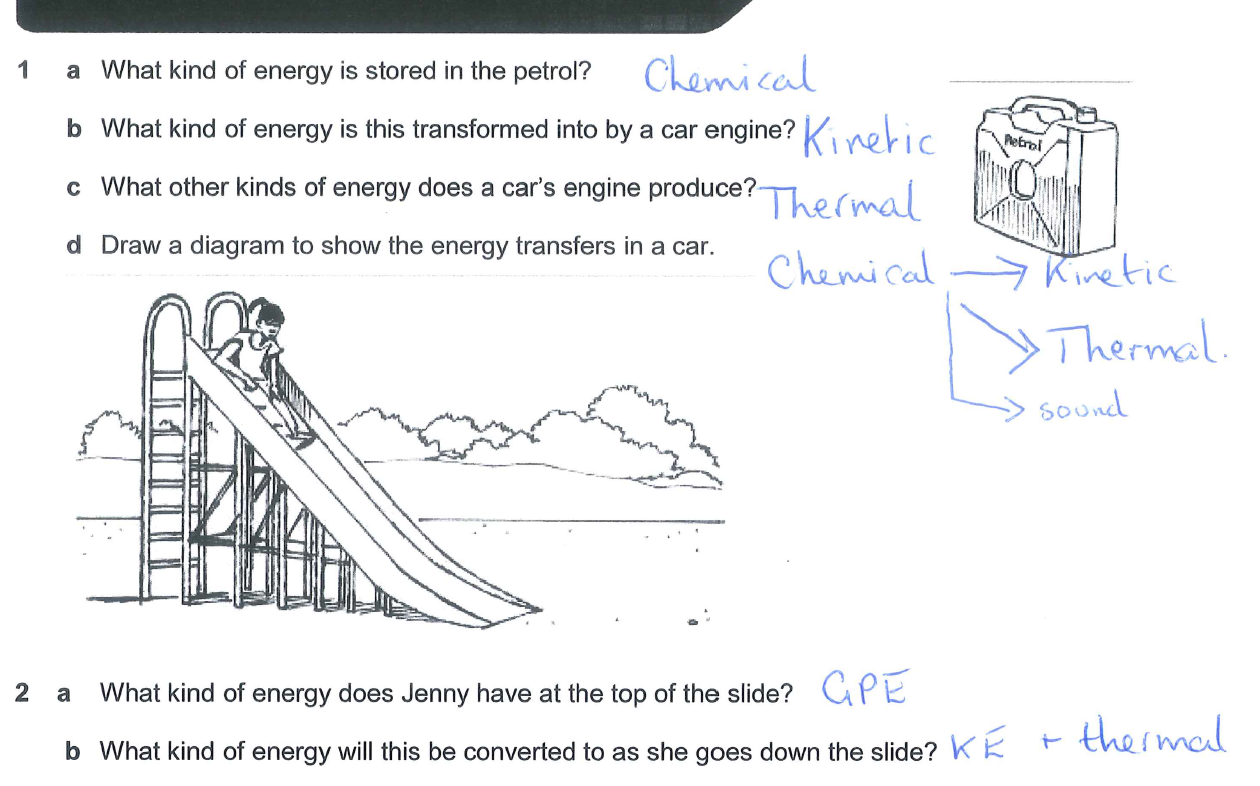 Igcse Physics Sankey Diagrams