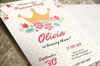 A Custom Party Invitation