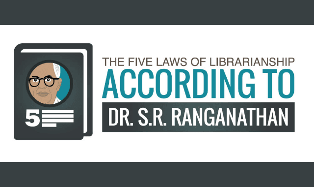 The Five Laws Of Librarianship According To Dr. S.R. Ranganathan