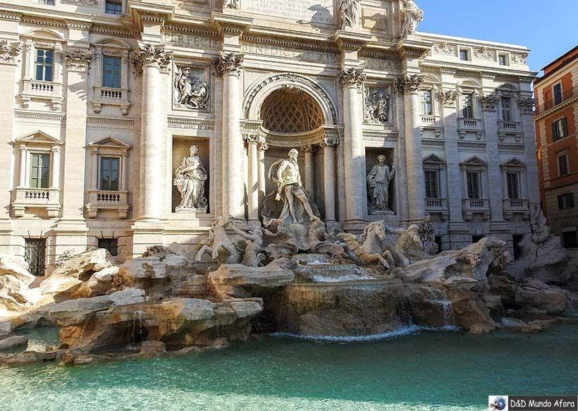 Fontana di Trevi - Roteiro: 3 dias em Roma