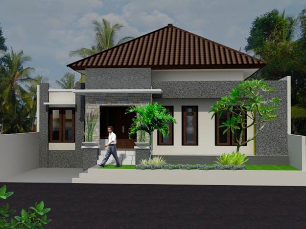 Desain Rumah Minimalis Satu Lantai Unik