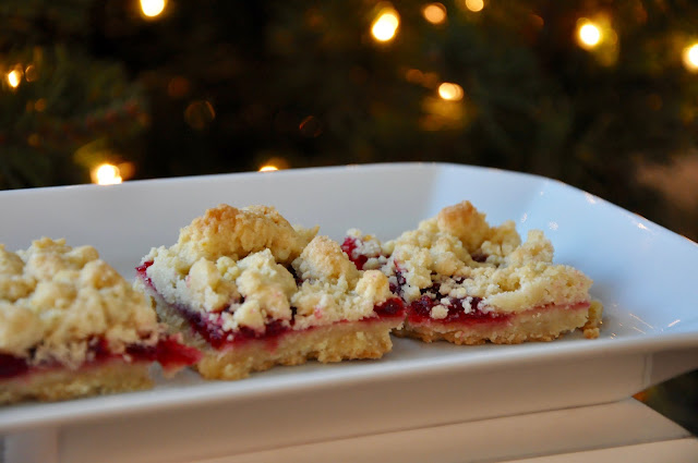 Cranberry Cookie Bars