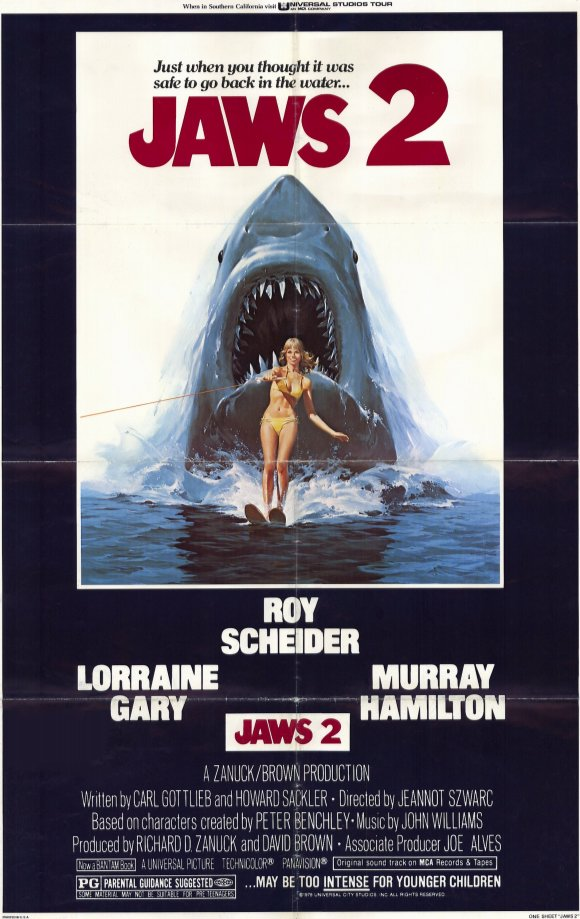 9c54c932a67 I have a soft spot for Jaws 2. This is mainly due to the sense of nostalgia  it evokes whenever I watch it
