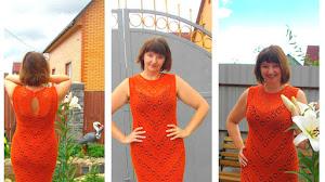 Vestido Crochet Filet y Punto Araña / Paso a paso