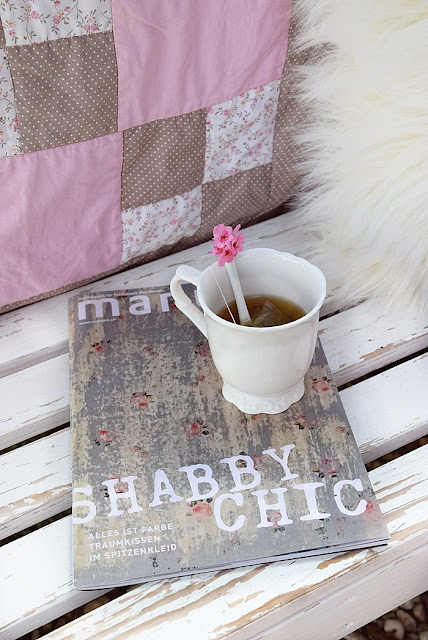 Blog White and Vintage in der Zeitschrift MANUELL