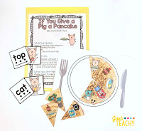 If Your Give a Pig a Pancake Take Home Book Pack, www.JustTeachy.com