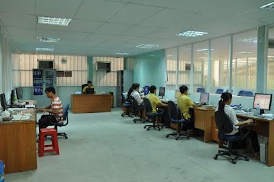 Thiết kế nội thất phòng làm việc cho nhân viên