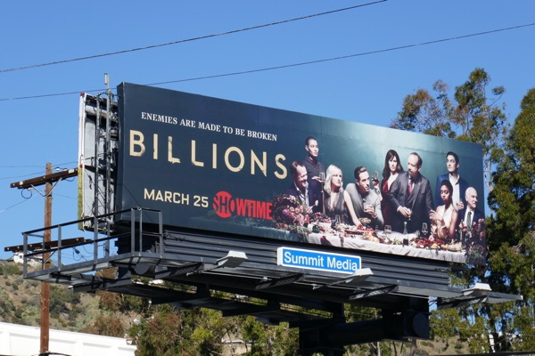 Billions season 3 billboard