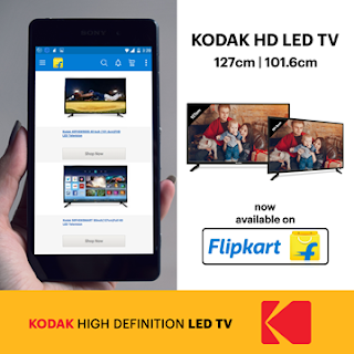 Celebrate this New Year with Kodak HD LED TV