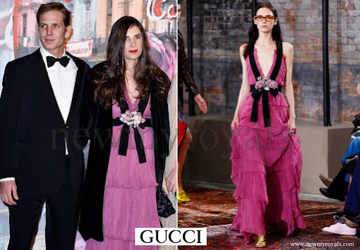 Tatiana Casiraghi wore Gucci resort 2016