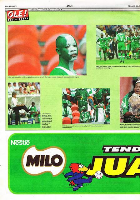 PESONA NIGERIA PIALA DUNIA 1998 PRANCIS