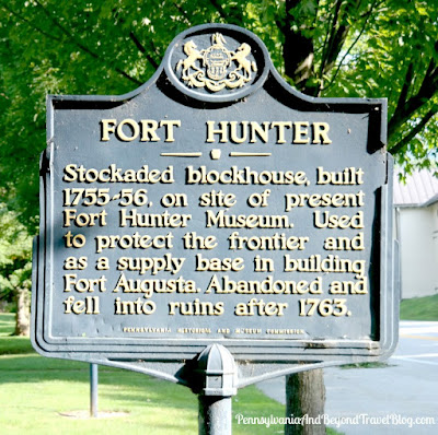 Fort Hunter Historical Marker in Harrisburg Pennsylvania