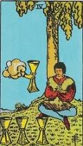 Four of Cups in Love and Relationships - Priania