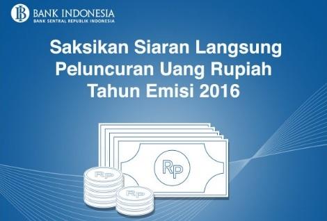 Bank Indonesia Resmi Keluarkan Desain Uang Baru 19 Desember 2016
