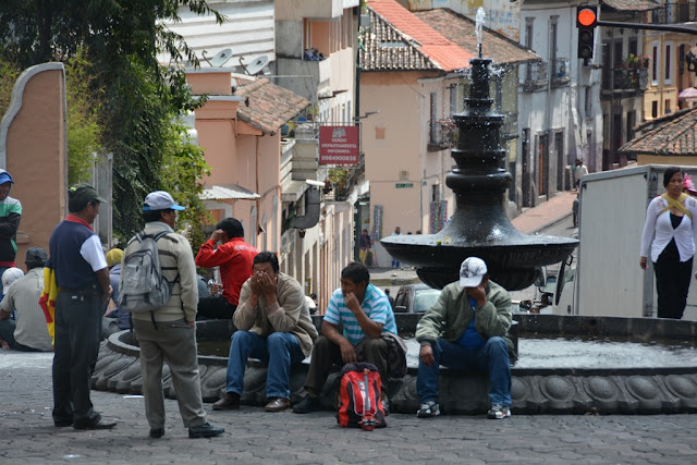 Quito fountain
