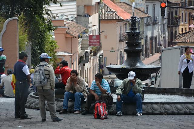 Quito fountain