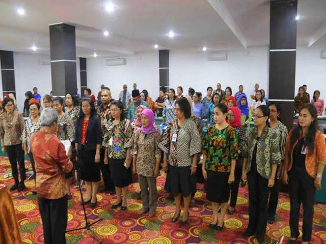 DP3AMD Kota Ambon Gelar Sosialisasi Kesetaraan Gender