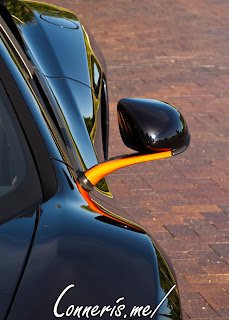 McLaren 12C Mirror Stalk Detail