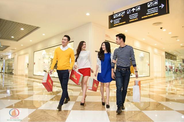 Trung tâm mua sắm dự án Xuân Phương Riverside
