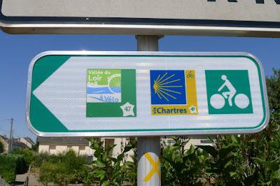 De Paris à la Rochelle en vélo couché, Vallée du Loir à vélo