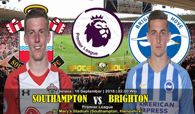 Prediksi Southampton VS Brighton 18 September 2018