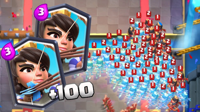 +150 Princesas no Clash Royale