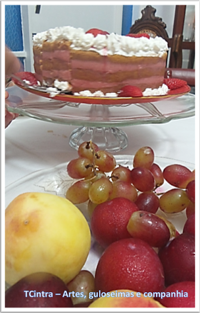 bolo; Natal; bolo decorado; morango