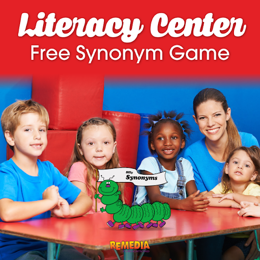 Literacy Center: Silly Synonyms Game