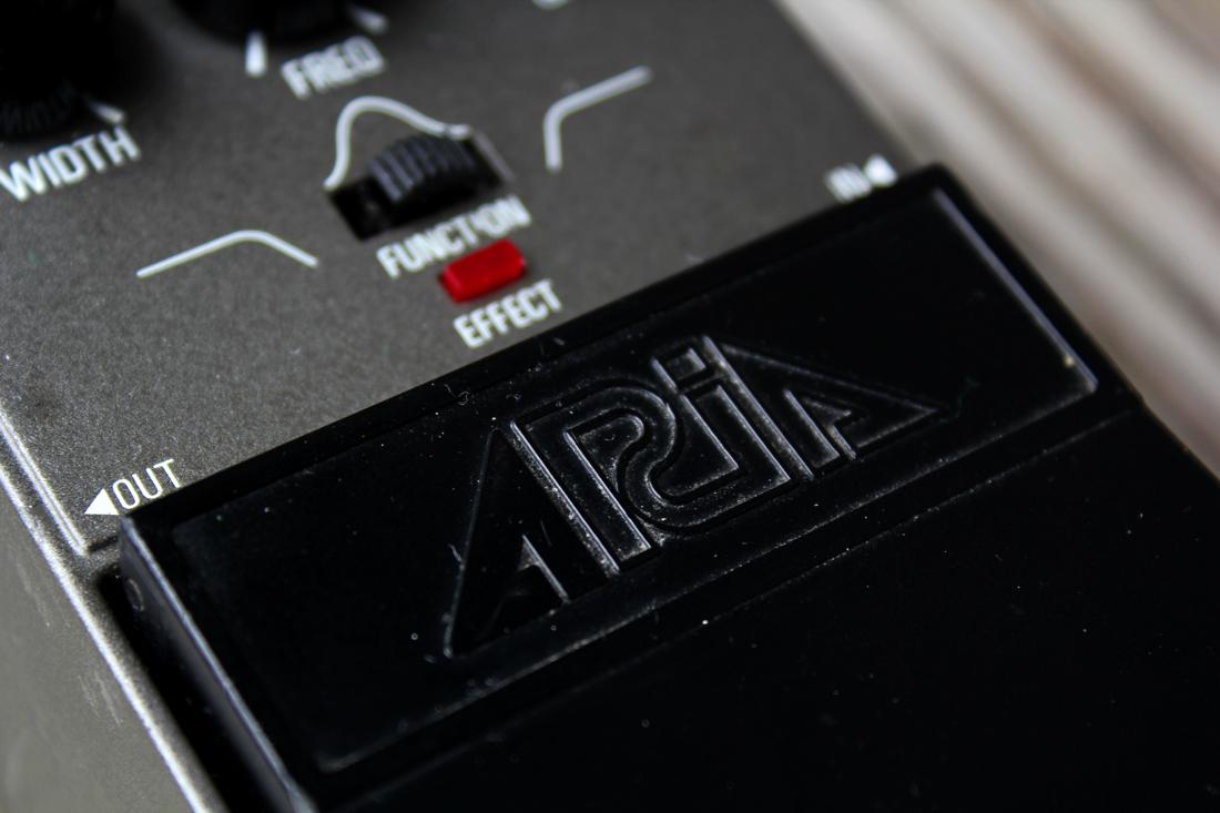 Tone Machines Blog: Aria PE-10 Parametric EQ (1983)