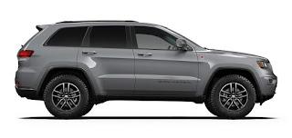 2017 Jeep Grand Cherokee Color: Grey