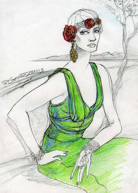 Fashion, fashionblogger, fashionillustrator,art, interview, seattle